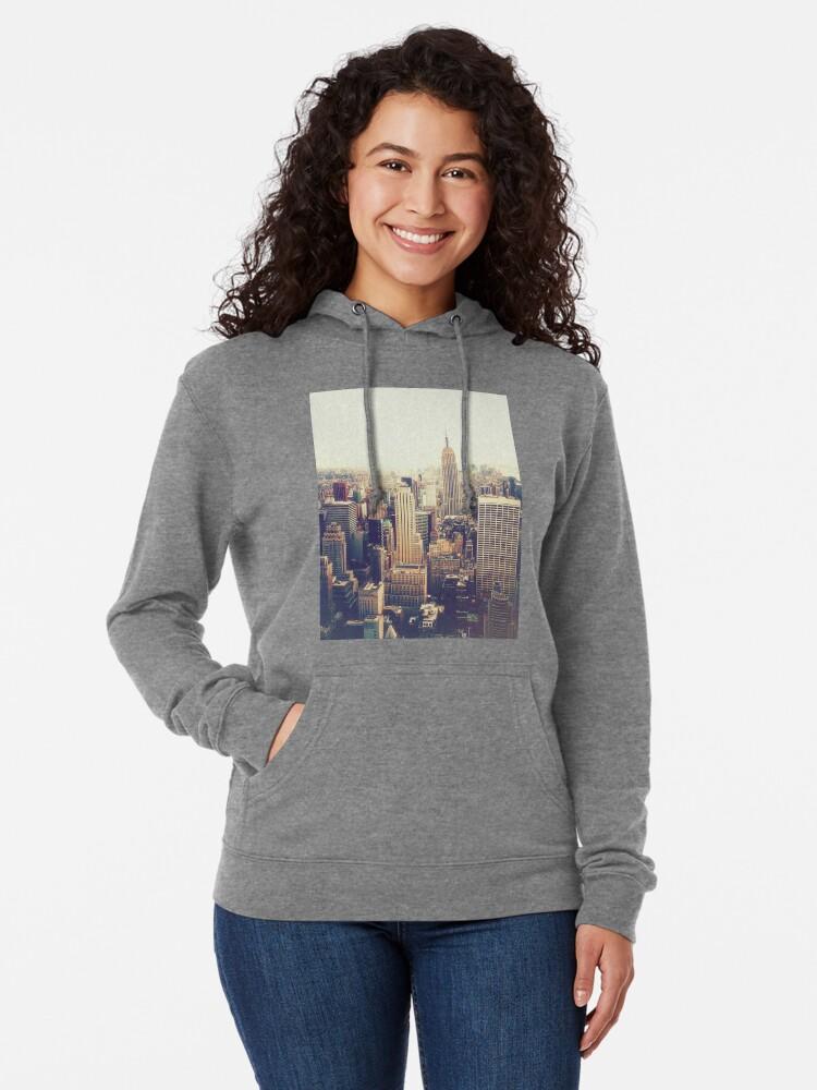 Vista alternativa de Sudadera con capucha ligera Nueva York