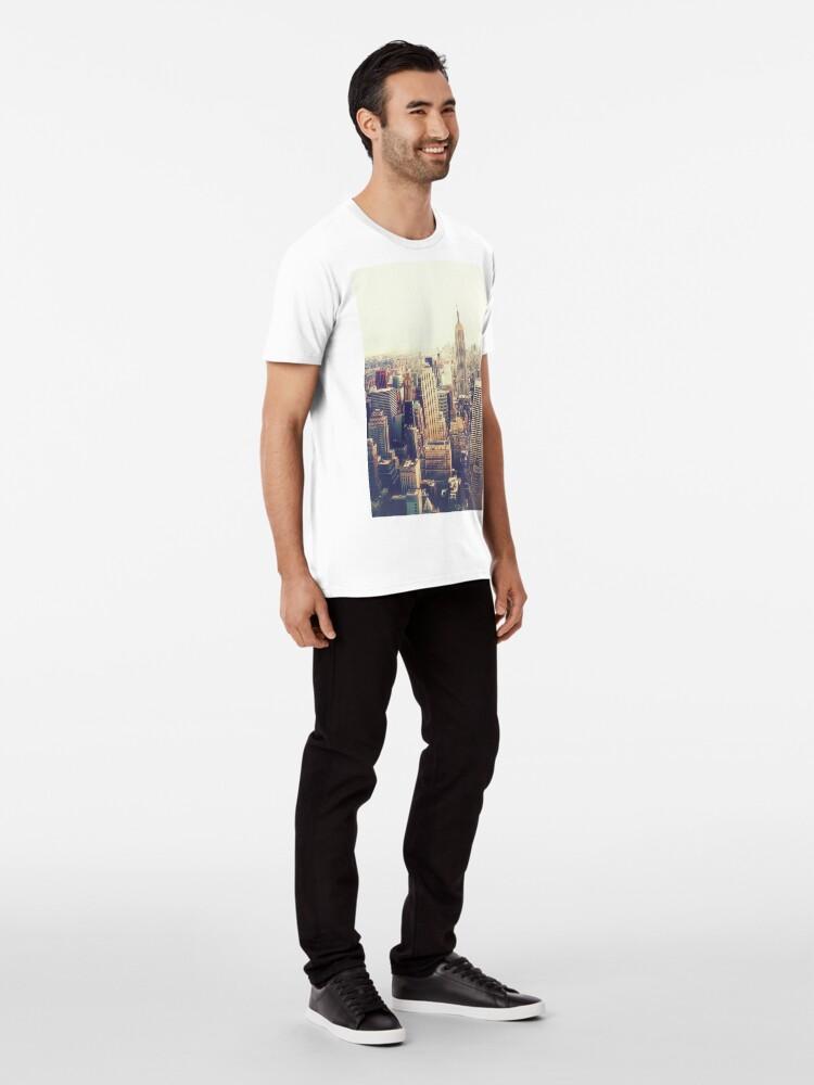 Vista alternativa de Camiseta premium Nueva York