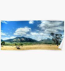 Sunburnt Country - The Grampians - The HDR Experience Poster