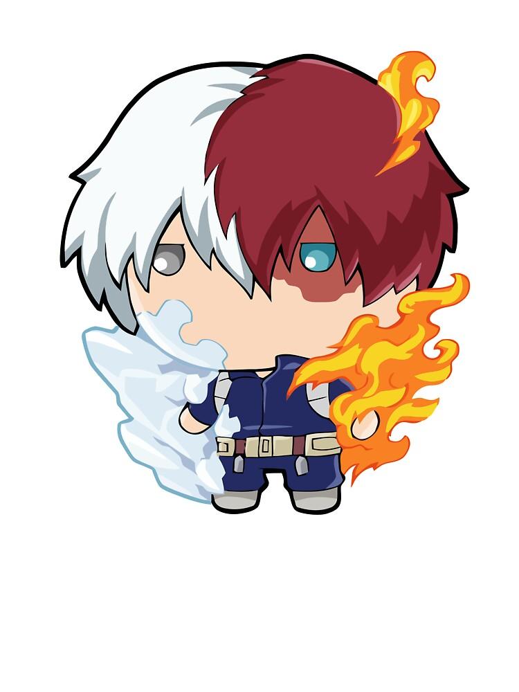 Todoroki Shoto Cute Boku No Hero Academia Baby One Piece