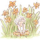 Dandelion girl by Embla Granqvist