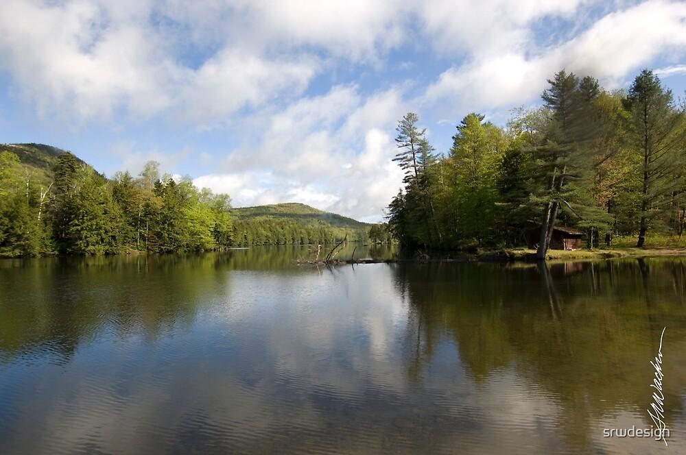 Mountain Lake Vista by Susan R. Wacker