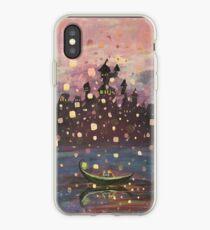 Tangled Lantern Painting iPhone Case