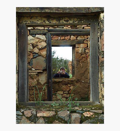 Windows to Ruin Photographic Print