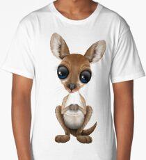Cute Baby Kangaroo Long T-Shirt