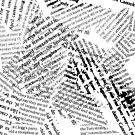 Grunge Newsprint by AltAttic