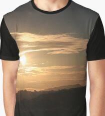 Sunset over the Skirrid Graphic T-Shirt