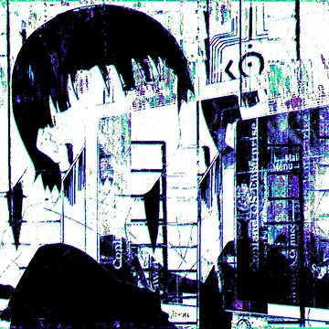 lain echo glitch by Alheak