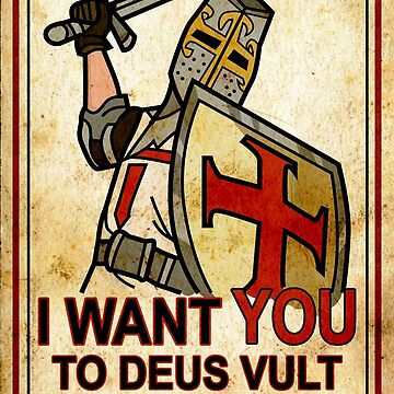 Deus Vult - I want you to retake Jerusalem by DigitalCleo
