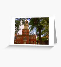 Historic Independence Greeting Card