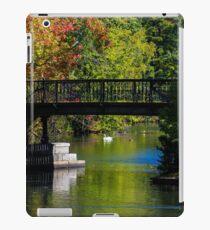 Fall in Roger Williams Park, Providence, RI iPad Case/Skin
