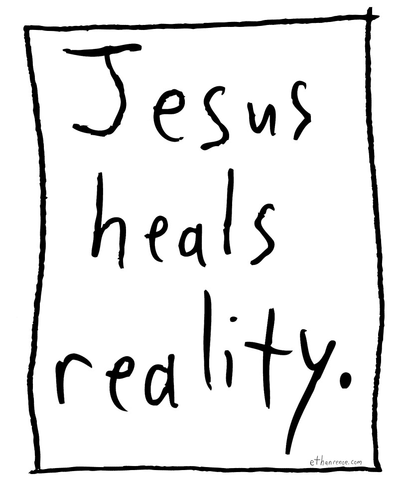 Reality Healer - Black by Ethan Renoe