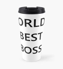 The World's Best Boss Office Travel Mug