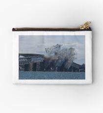Blowing Up the Jamestown Bridge, Jamestown, RI Studio Pouch