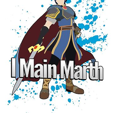I Main Marth - Super Smash Bros. For Wii U by PrincessCatanna