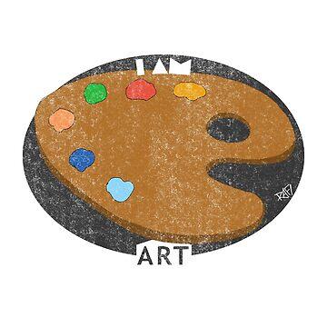 I Am Art - Artist Design by Rafiwashere