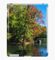 Fall at Roger Williams Park, Providence, RI iPad Case/Skin