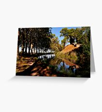 Canal du Midi at Poilhes Greeting Card