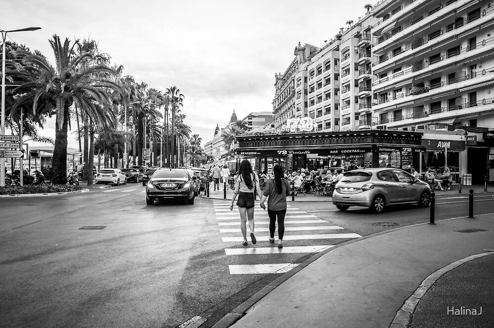 Night in Cannes by HalinaJ
