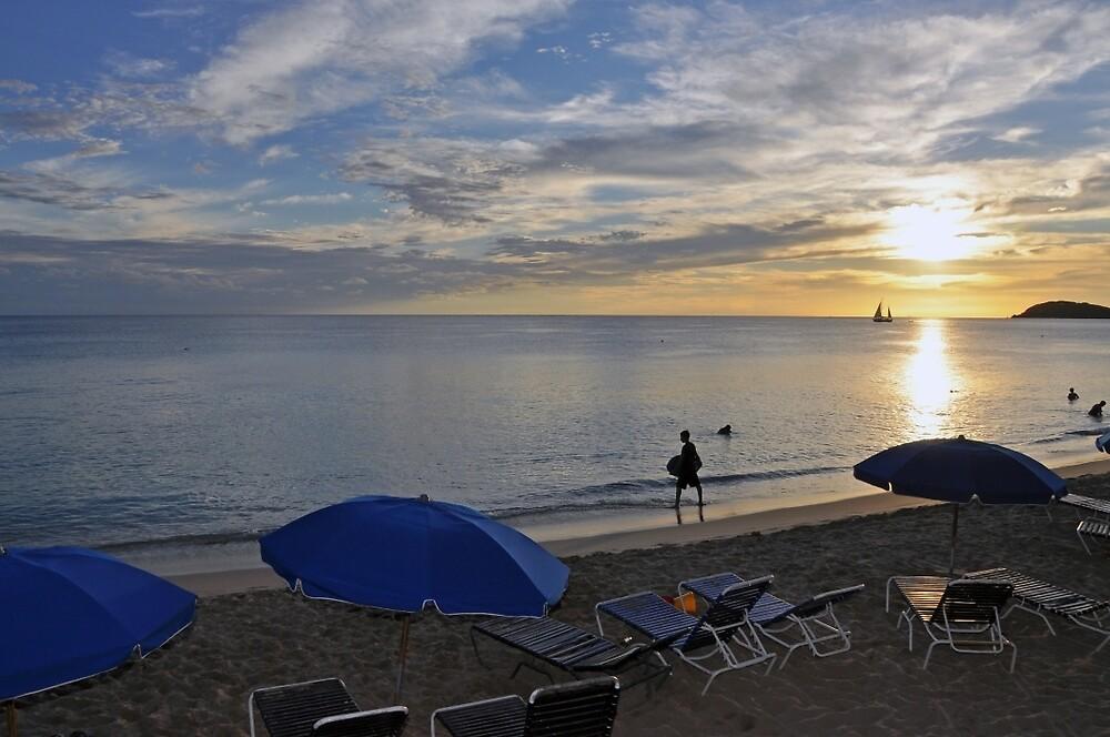 Sunset at Morningstar Beach by John  Kapusta