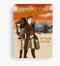 Browncoat Delivery Canvas Print