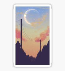 Sunset Forest Sticker