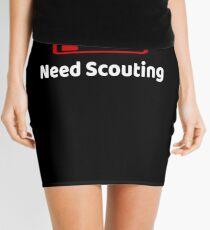 Low Battery Need Scouting TShirt Activities Hobbies Gift Mini Skirt