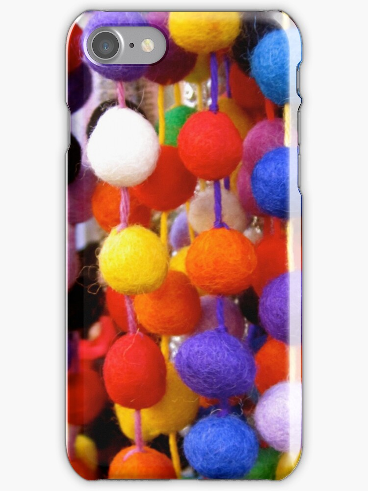 COLOURED COTTON BOBBLES NOW AVAILABLE ON PENCIL SKIRTS AND SCARVES by Colleen2012