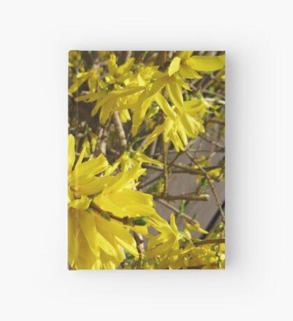 Goldene Forsythie-Blume Notizbuch