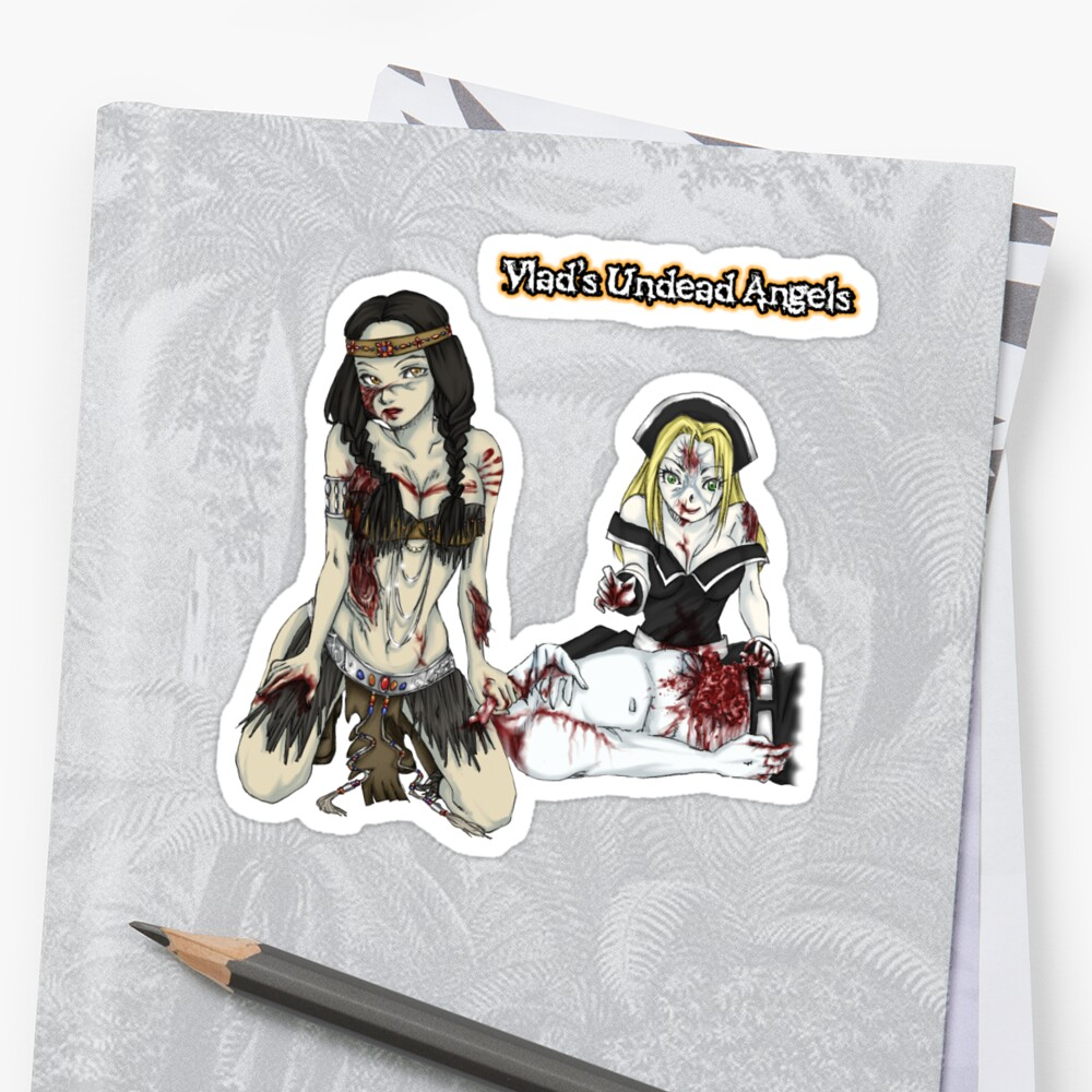 Undead Angels: Zombie Thanksgiving by EnforcerDesigns
