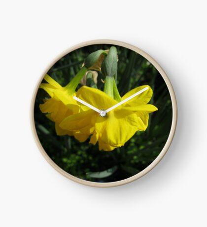 Nickende Narzissen Uhr