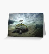 Turtle Island - Iroquois Creation Story Greeting Card
