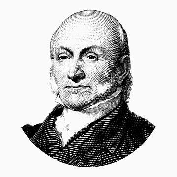 El presidente John Quincy Adams Graphic de warishellstore