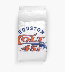 Defunct - Houston Colt 45 Baseball Duvet Cover