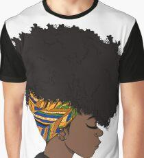 big afro Graphic T-Shirt