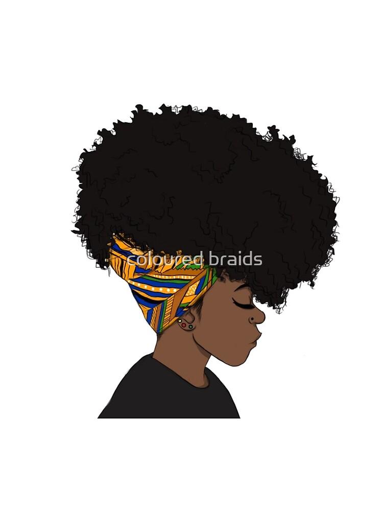 großer Afro von Damakka-