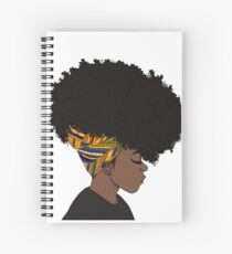 big afro Spiral Notebook