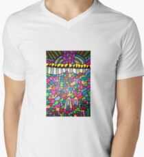 Trippy patterns  Men's V-Neck T-Shirt