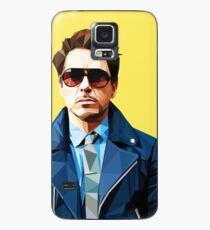 Funda/vinilo para Samsung Galaxy Robert Downey Jr - Vector Low Poly