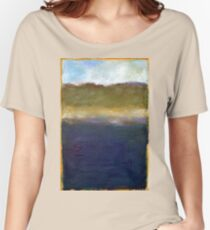Abstract Dunes Women's Relaxed Fit T-Shirt