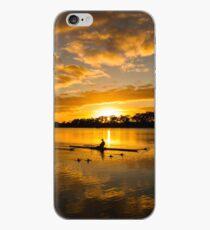 Sunrise rowing iPhone Case