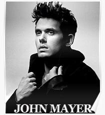 john mayer style tour 2018 doso Poster