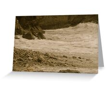 The sea of life......... Greeting Card