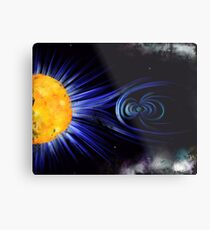 Magnetic Fields Metal Print