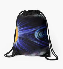 Magnetic Fields Drawstring Bag