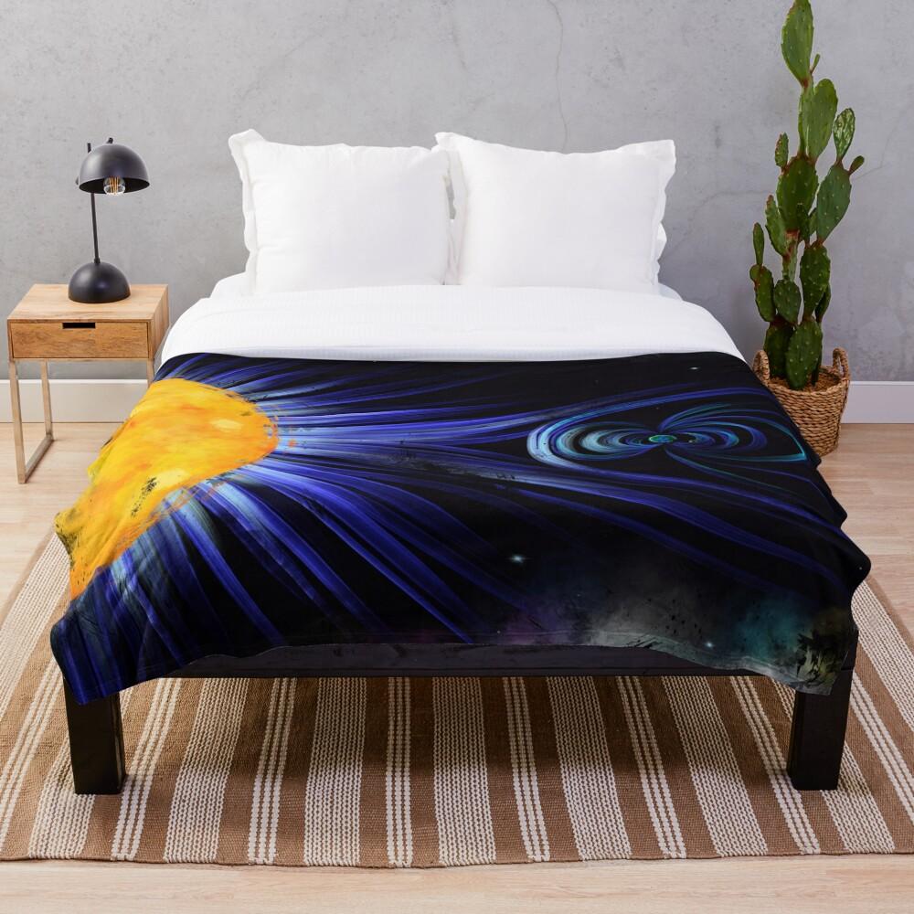 Magnetic Fields Throw Blanket