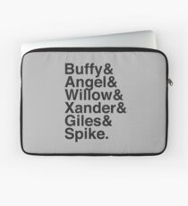 The Scooby Gang Vintage Black Laptop Sleeve