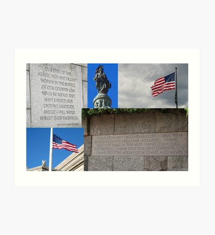All gave some.  Some gave all.   Art Print