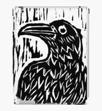 Raven Woodblock iPad Case/Skin