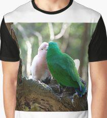 Give Us A Kiss Grafik T-Shirt